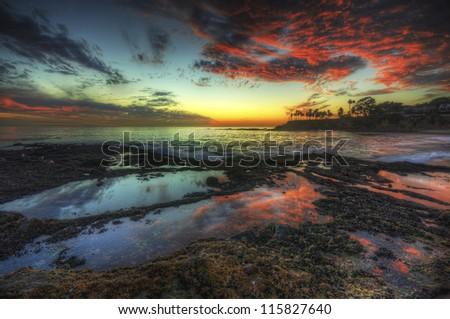 Laguna Red - stock photo