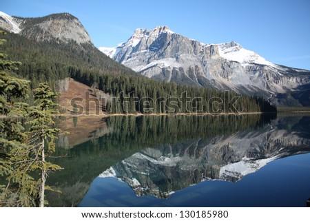 Lake, Canada - stock photo