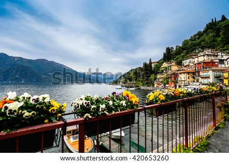 Lake Como, Milan, Italy - stock photo