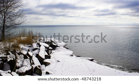 lake erie shoreline