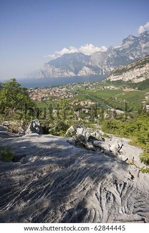 Lake Garda - stock photo