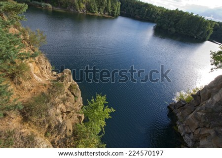 Lake Gr�¼ner See Offenbach