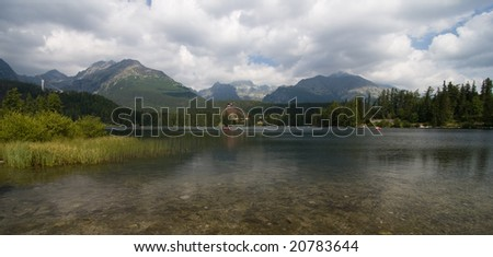 Lake in montains