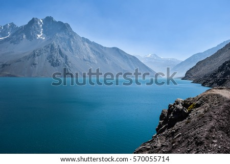 Lake in the Andes