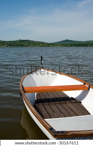 Lake Inside in Tihany, Hungary - stock photo