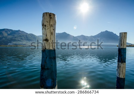 Lake iseo view from Lovere