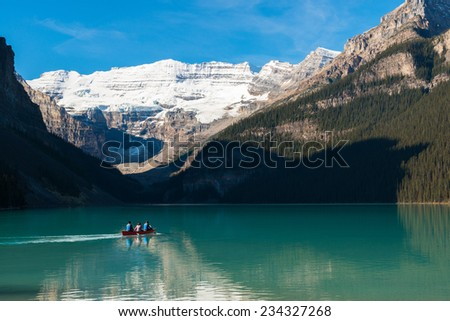 Lake louise, Banff national park, Canada - stock photo