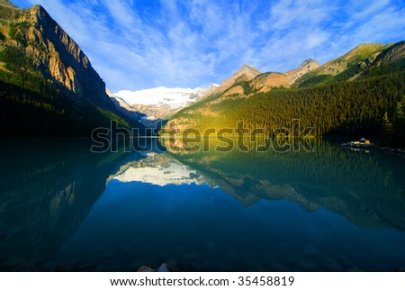 Lake Louise, Banff, Rocky Mountain, Canada