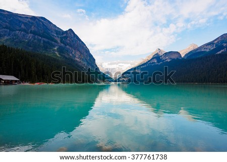 Lake Louise on summer / Banff National Park, Canada