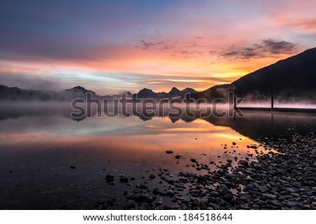 Lake McDonald - stock photo