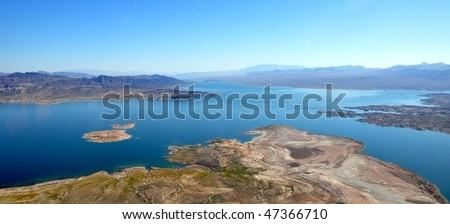 lake mead - stock photo