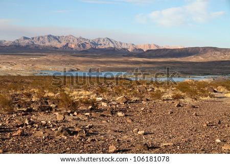 Lake Mead, Nevada - stock photo