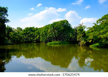 Lake Park - stock photo