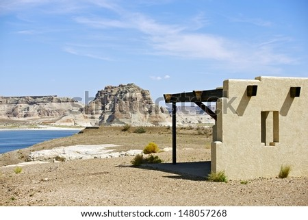 Lake Powell Place. City of Page, Arizona. Famous Recreational Site in Northern Arizona.
