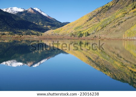 Lake Reflections San Juan Mountains, Colorado