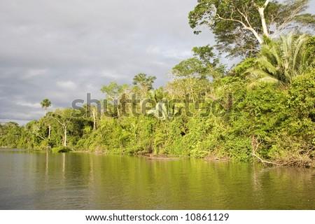 Lake Sandoval - stock photo