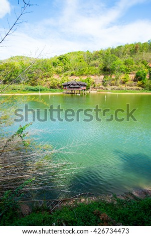 Lake View of Wangmajshar at Chiangrai, Thailand