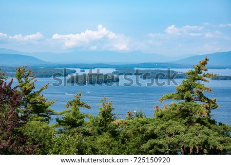 Lake Winnipesaukee, New Hampshire.