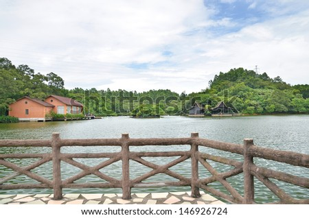 Lakeview Resort  - stock photo