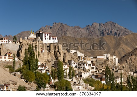Lamayuru is one of the largest and oldest Tibetan Buddhist monasteries in Ladakh, Leh district, India.