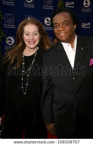 Lamont Dozier and wife Barbara  at the Grammy Foundation's Starry Night Gala. University of Southern California, Los Angeles, CA. 07-12-08