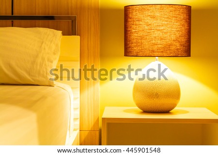 lamp at bedroom