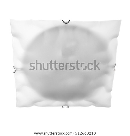 lamp for wall and ceiling isolated on white background