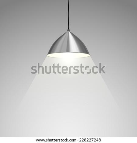 Lamp Hanging - stock photo