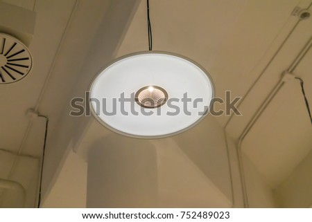 lamp in prouction room