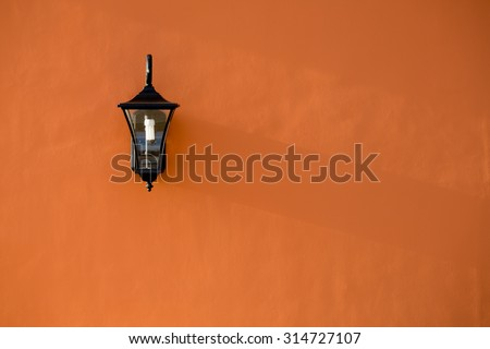 Wall light stock images royalty free images vectors shutterstock lamp light on the wall aloadofball Choice Image