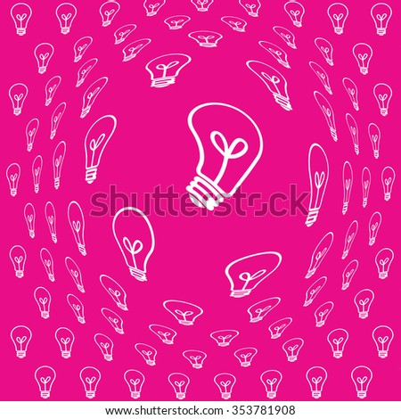 Lamp, Modern colorful background