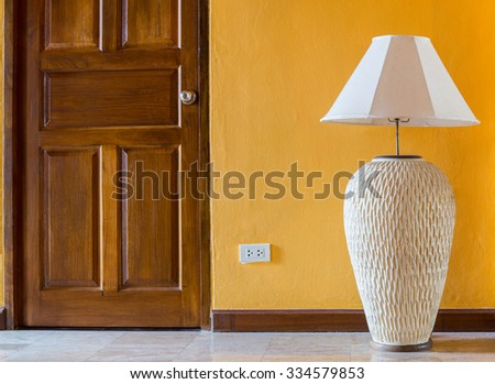 lamp wall interior style