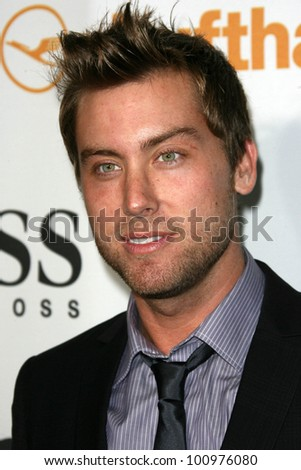 Lance Bass at the Esquire House LA Opening Night Event With International Medical Corps, Esquire House, Beverly Hills, CA. 10-15-10 - stock photo