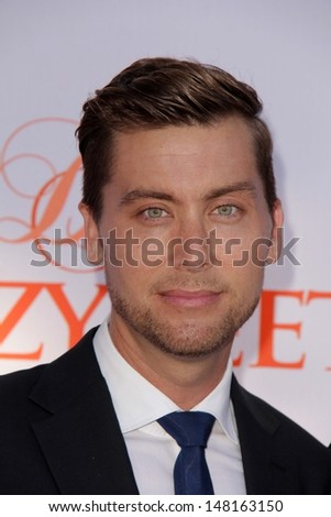 Lance Bass at the 3rd Annual Celebration of Dance Gala presented by the Dizzy Feet Foundation, Dorothy Chandler Pavilion, Los Angeles, CA 07-27-13 - stock photo