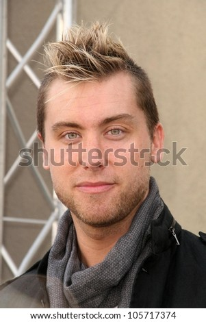 Lance Bass  at the 7th Annual Stuart House Benefit. John Varvatos Boutique, Beverly Hills, CA. 03-08-09 - stock photo