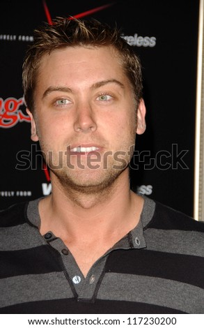 Lance Bass at the Verizon Rolling Stone Grammy Party. Avalon, Hollywood, CA. 02-09-07 - stock photo