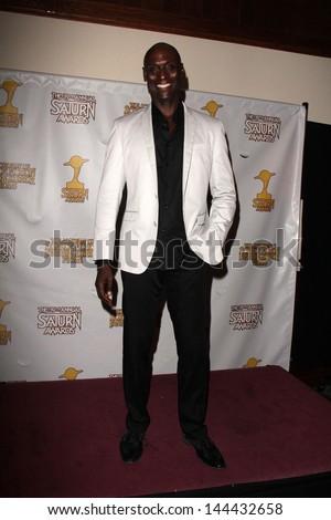 Lance Reddick at the 39th Annual Saturn Awards Press Room, The Castaway, Burbank, CA 06-26-13 - stock photo
