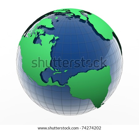 Land - stock photo