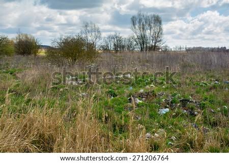Landfill - stock photo