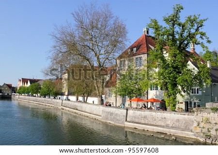 Landsberg upon the Lech - stock photo