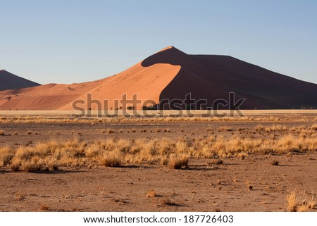 Landscape in namibia, Africa