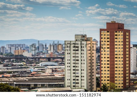 Landscape in Sao Paulo , Brazil - stock photo