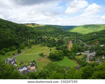 Landscape in Taunus/Germany - stock photo