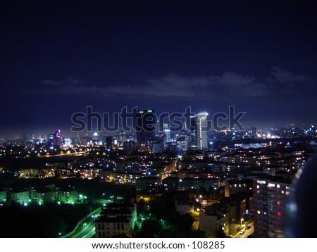 landscape istanbul - stock photo