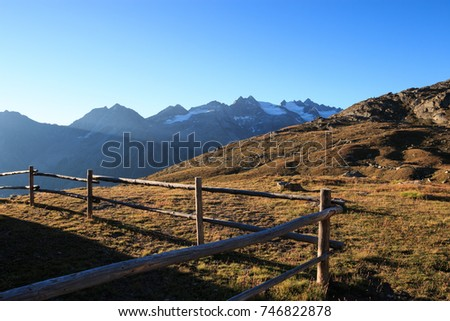landscape near the Vittorio Sella refuge - Gran Paradiso National Park