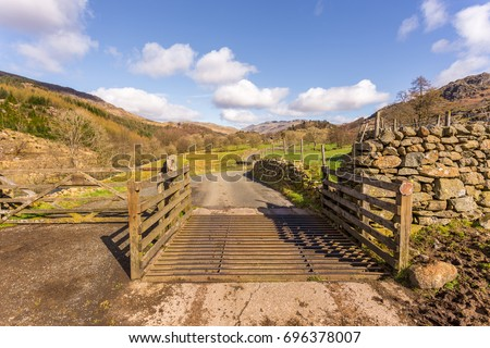 Cattle Gate Stock Images Royalty Free Images Amp Vectors