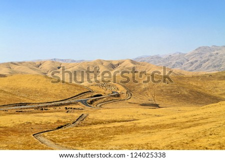 Landscape of California - stock photo