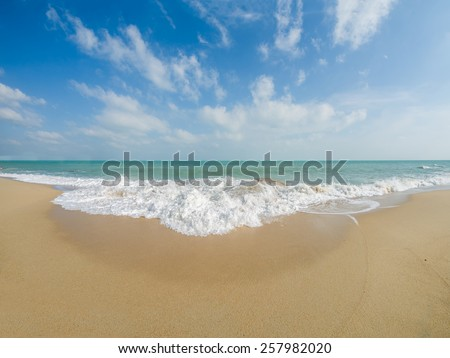 Landscape of Koh Samui island in Thailand - stock photo