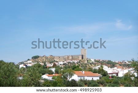 landscape of portel village
