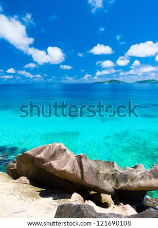 Landscape Panorama Summertime - stock photo